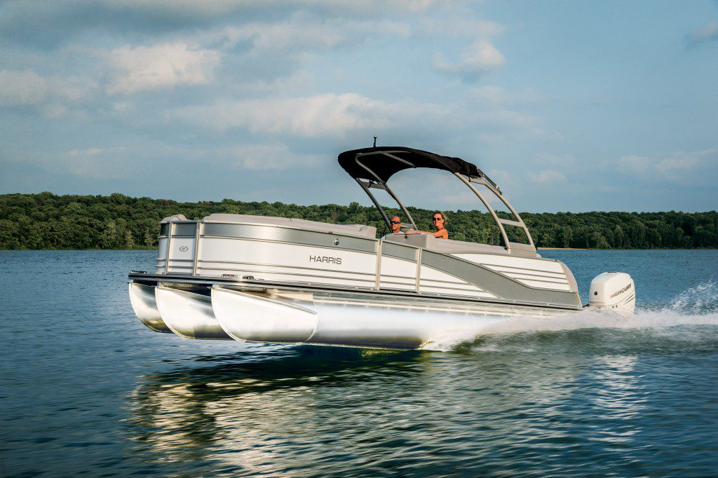 harris pontoon boats construction models layouts more rh smartboatbuyer com Johnson Outboard Wiring Diagram Blue Sea Battery Switch Wiring Diagram