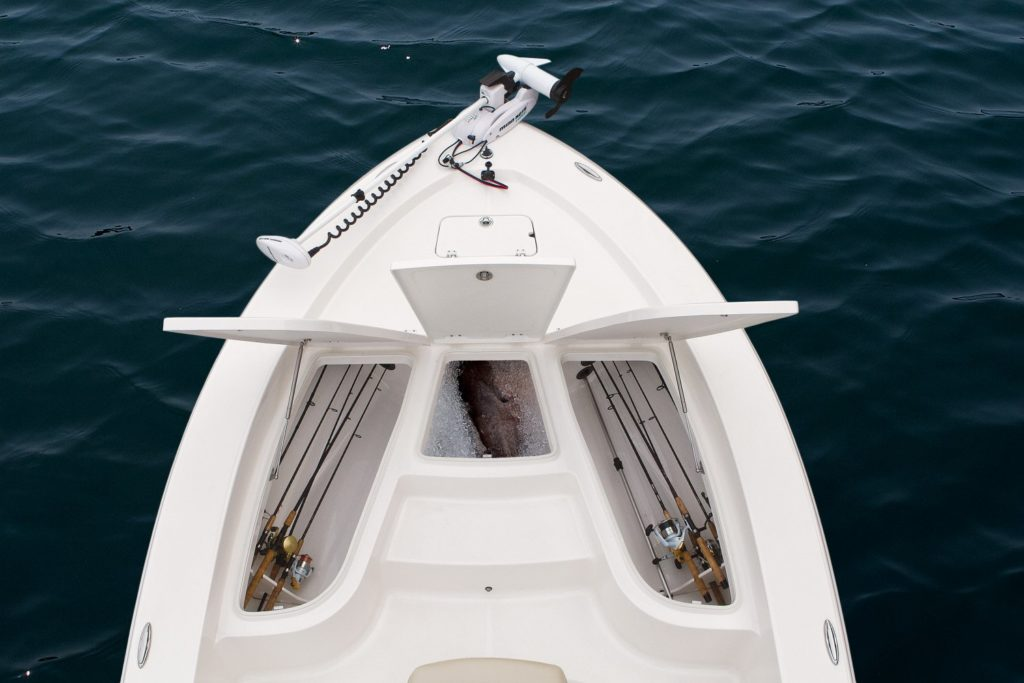 Robalo 206 Cayman Bow Storage