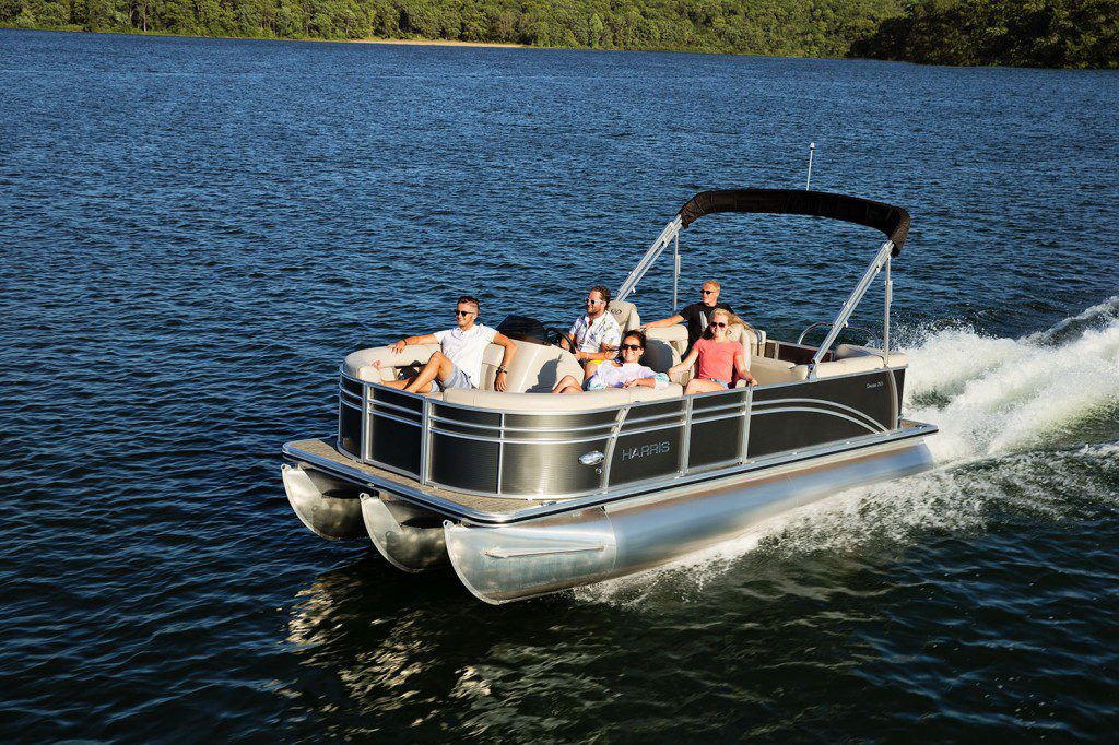 Harris Pontoon Boats - Construction, Models, Layouts & More on