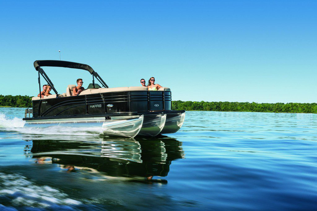Harris Pontoon Boats Construction Models Layouts More
