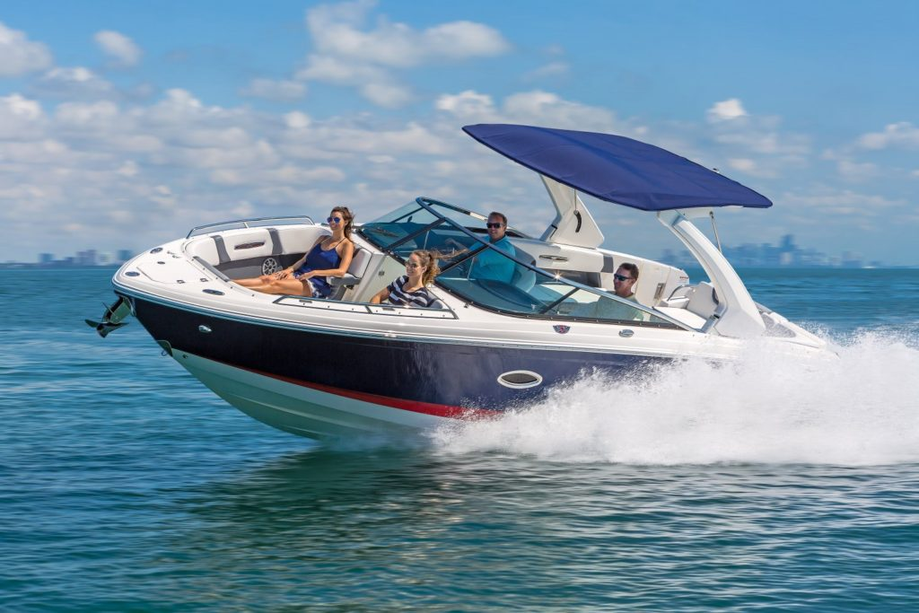 Chaparral 287 SSX Hull
