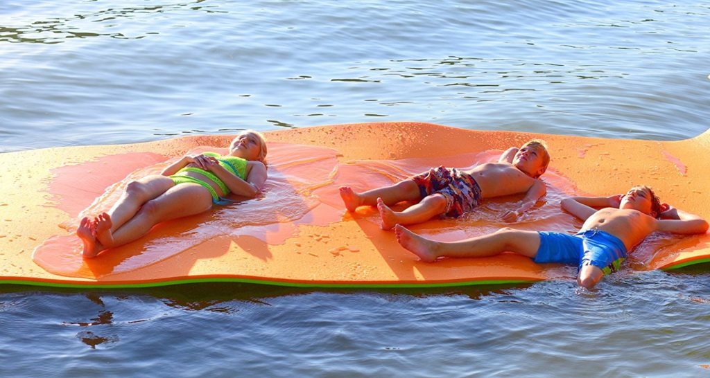Floating Water Mats Are Meant To Be Used In A Stationary Position This Makes Them Ideal Use When Boat On The Beach Or