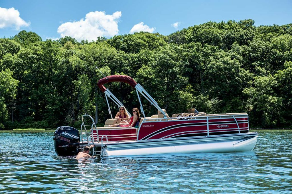Harris Solstice Pontoon Review - Best Pontoon Boats of 2018